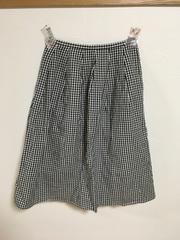 rouquine ギンガムチェック スカート 難あり