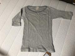 新品タグ付き ungrid アングリッド 五分袖 半袖Tシャツ グレー