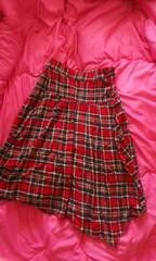チェック柄スカートLサイズ