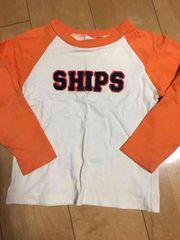 シップス.SHIPSのロングTシャツ。ロンT。