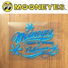 【送料無料】ムーンアイズ 転写ステッカー MOONEYES/California