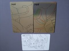 けいおん! Kyoaniコレクションプレミアム カード3枚 詳細不明 京アニ KーON!