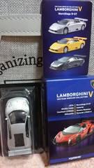 1/64 京商製品 ランボルギーニコレクションV ムルシエラゴR-GT 未使用 新品 シルバー