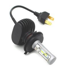 バイク LED ヘッドライト H4 HI-LO 12v 25w 6k ファンレス 1個