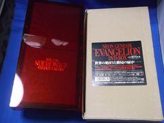 DVD-BOX 「新世紀エヴァンゲリオン」 赤箱  初回発売版