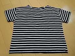 背中リボン付き 半袖シャツ L