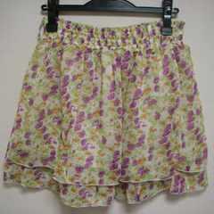 新品 ナイスクラップ ミニ 花柄 スカート