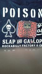 クリームソーダ赤豹柄財布�呑カビリーピンクドラゴンキャットストリート1950カンパニー