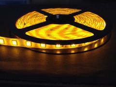 12V用 LEDテープライト 5m 防水  300連 白ベース  オレンジ