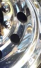 超バリツル磨き剤 トラックアルミホイール ステンレス 超鏡面