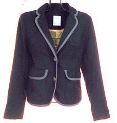 ページボーイPAGEBOY紺色テーラードジャケット美品OL通勤