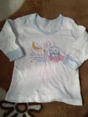 カワイイ シナモロール長袖シャツ 2枚組90cm