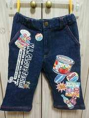 KLC★かわいいプリント膝丈パンツ★サイズS