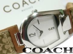 美品【箱・ギャラ付】1スタ★コーチ/Coach Signature 腕時計