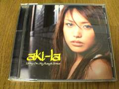 aki-la CD Living On My Rough Street.