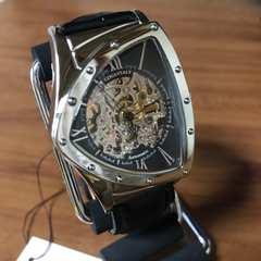 特価?コグ COGU フルスケルトン 自動巻き 腕時計 BS00T-BK
