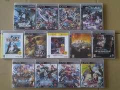 PS3 ガンダム、ブレイブルー、無双等13本まとめて