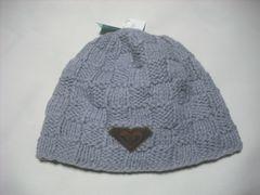 wb648 ROXY ロキシー ニット帽 ビーニー グレー