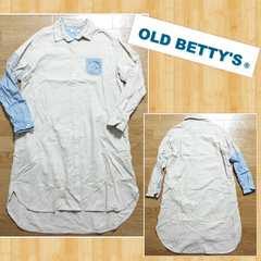 OLD BETTY'S オールドベティーズ Remake シャツ ワンピース リメイク 美品
