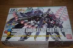 HGBF 1/144 クロスボーン・ガンダムX1 フルクロス メッキ/クリア