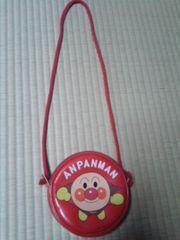 アンパンマン肩掛けポーチ(赤)