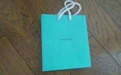 TIFFANY ショップ袋 13×15×17.5 美品