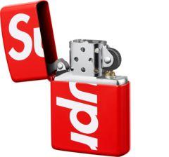 18SS Supreme Logo Zippo ジッポ Box Logo