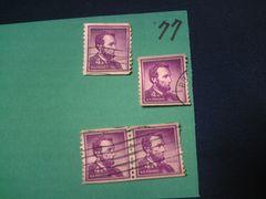 外国の切手 「アメリカ」 (77)