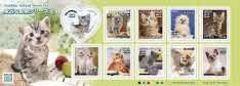 *H28.【猫】身近な動物シリーズ第2集 グリーティング切手82円