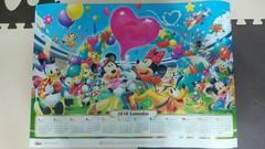ディズニー2019年カレンダー