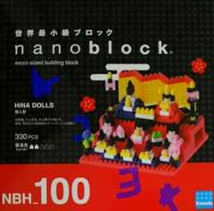 ナノブロック カワダ 雛人形 新品未開封 限定 NBH_100 ひな人形