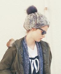 【新品】 BEAUTY&YOUTH ★ ファー帽子 ZARA ungrid 系