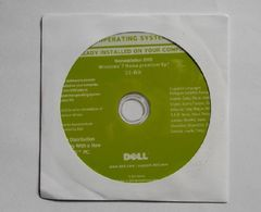 DELL  Windows 7 Home Premium SP1 32Bit