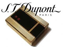 極レア デュポン/S.T.Dupont 漆 都彰【フランス製】ガスライター