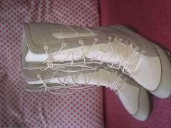 プーマPUMA 23.5cm ベージュ ブーツ 美品 靴