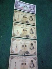 一円札4枚&100札1枚