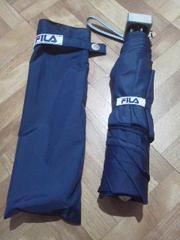 FILA/フイラ男女兼用★ケース付き折り畳み傘《新品》送料340円