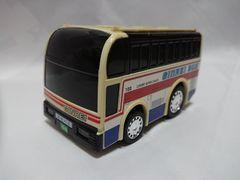 スーパースケルトンタイプバス 銀嶺バス ぎんれいくん プルバックカー