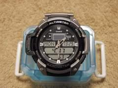 海外CASIOデジアナ腕時計SGW-400H中古品