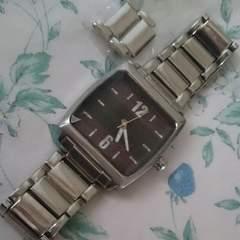 腕時計 男女兼用 シルバー
