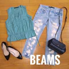 【美品】BEAMS/ビームス◆定価20000円◆ブラウス
