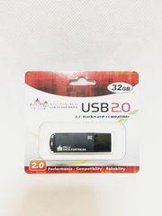 ☆新品送料込☆ USBフラッシュメモリ 2.0 32GB (黒)