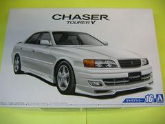アオシマ 1/24 ザ・モデルカー No.16 トヨタ JZX100チェイサーツアラーV'98 新品