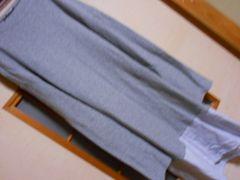 ZARA*重ね着風薄手長袖ワンピースM*ナチュラル*クリックポスト164円