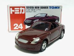絶版トミカ��24 トヨタ NEW ソアラ