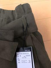 カーキ ウエストリボンタイトスカート 新品未使用