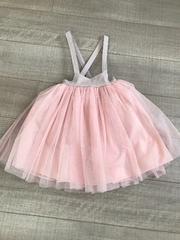韓国子供服チュールスカートXS美品80.90〜結婚式やイベントにも