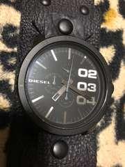ディーゼル 腕時計 DZ-4272 電池交換済み 稼働品 クロノグラフ