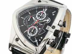 送料無料 COGU コグ アシンメトリー 腕時計 C43-BK ブラック