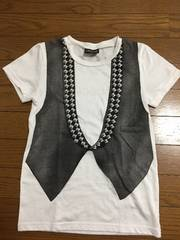 CHUBBYGANG/チャビーギャング★ベスト風Tシャツ/140cm美品